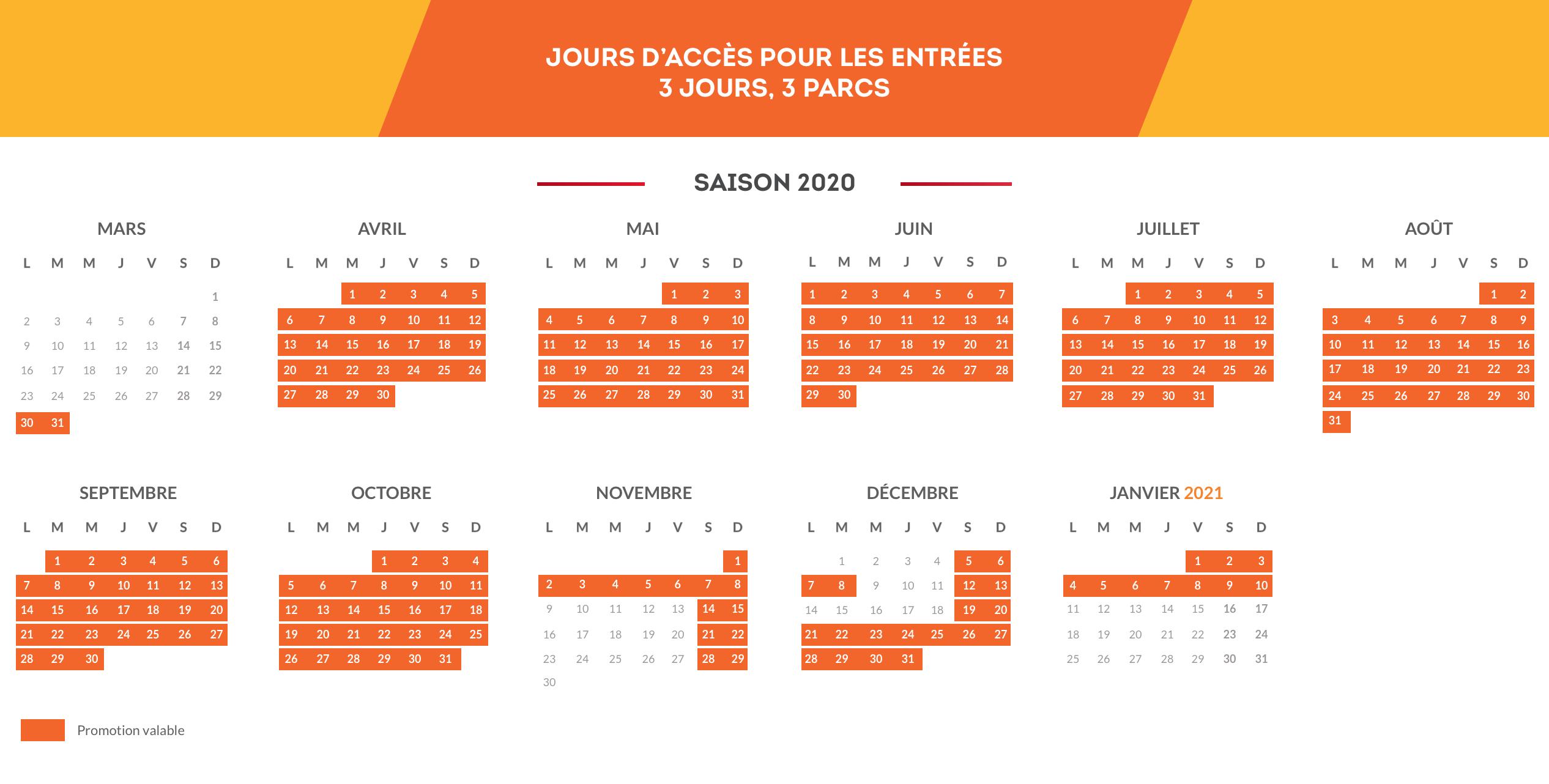 Calendario FR