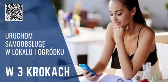 QR kody na stolikach – zobacz jak uruchomić bezkontaktową obsługę!