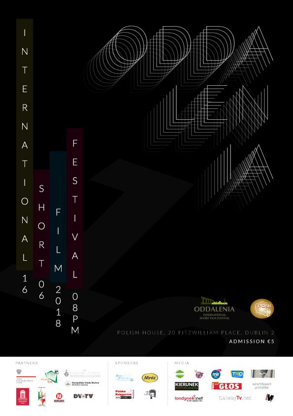 plakat festiwalu oddalenia 2018