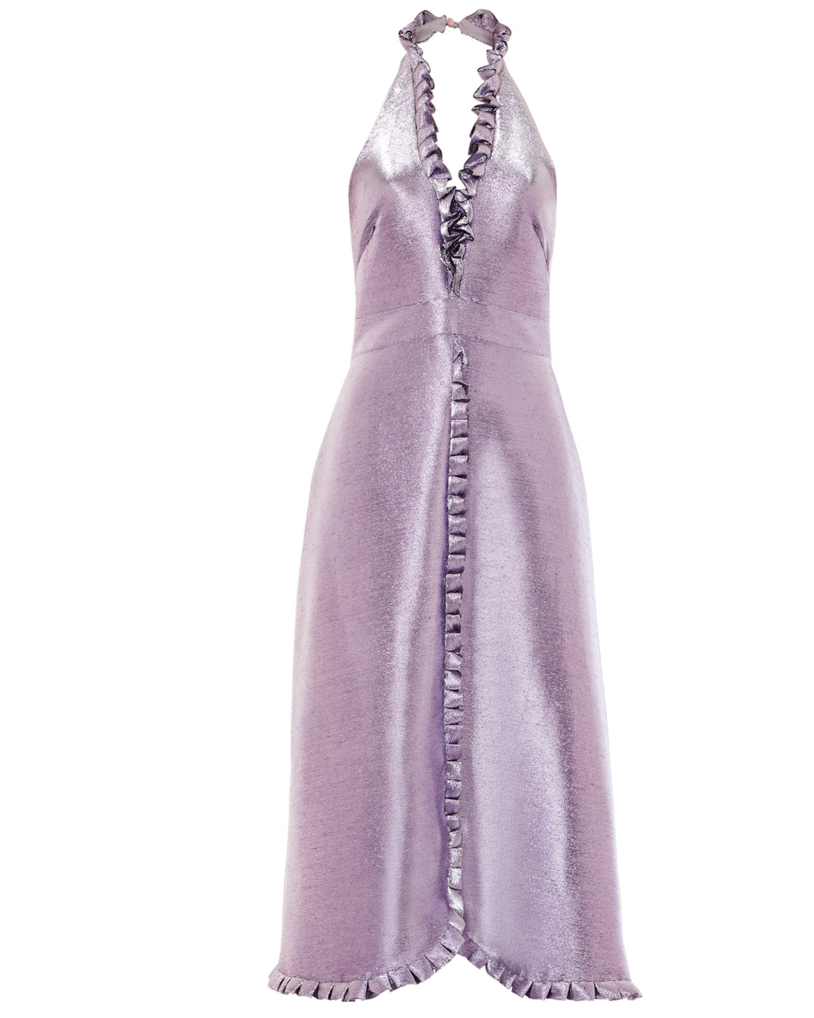 Temperley Moon Garden Dress Lavender