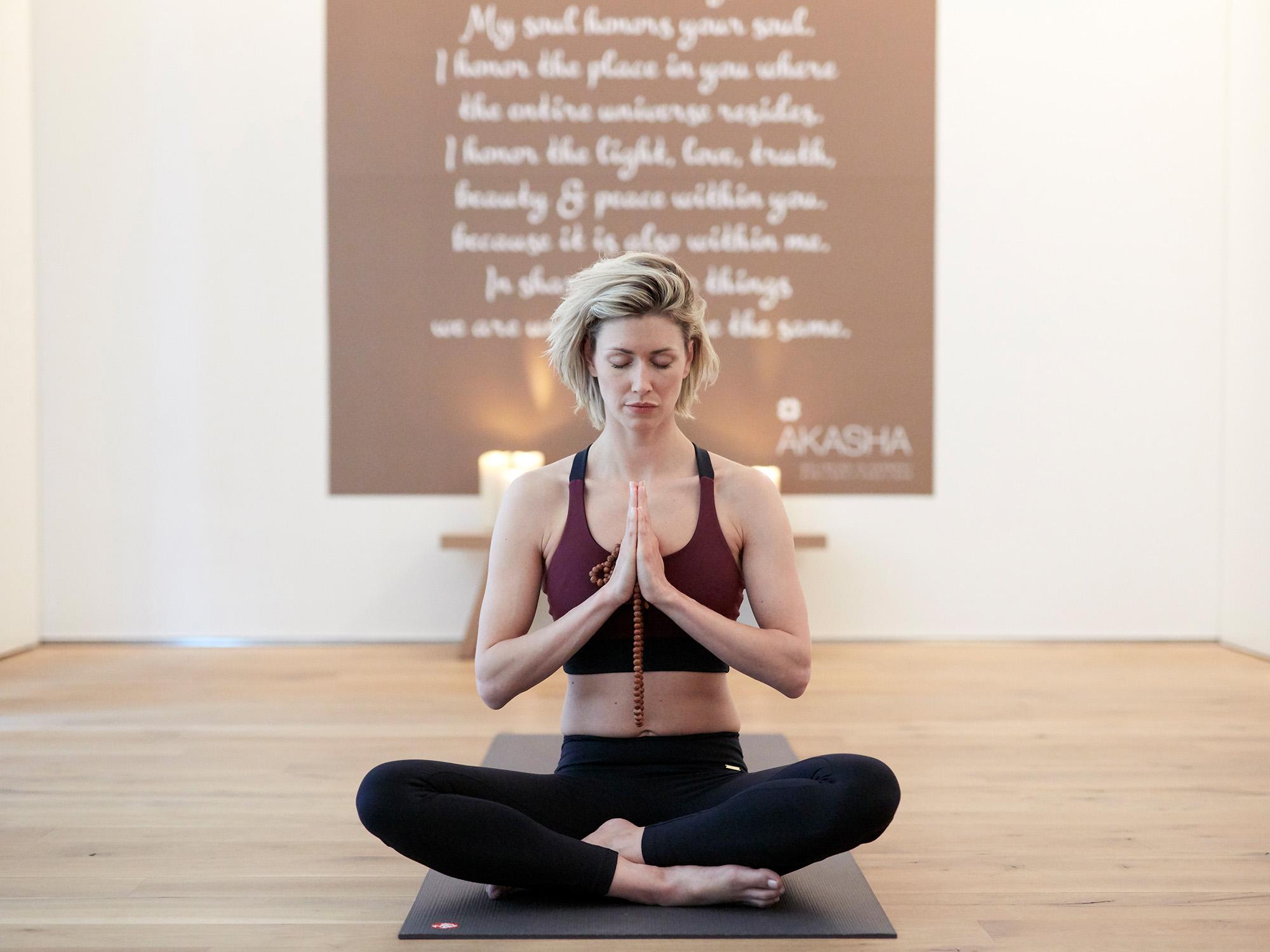 Conservatorium Hotel Yoga Studio in Amsterdam