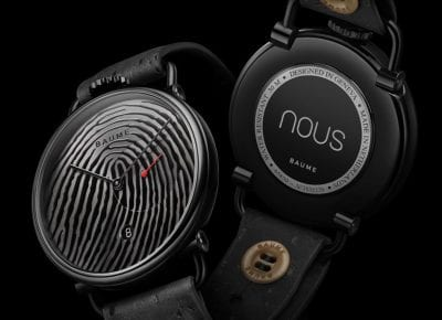 Baume and Nous collaborate on a limited-edition watch