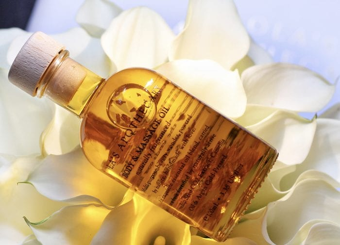 Relax completely with Orange Blossom from Lola's Apothecary