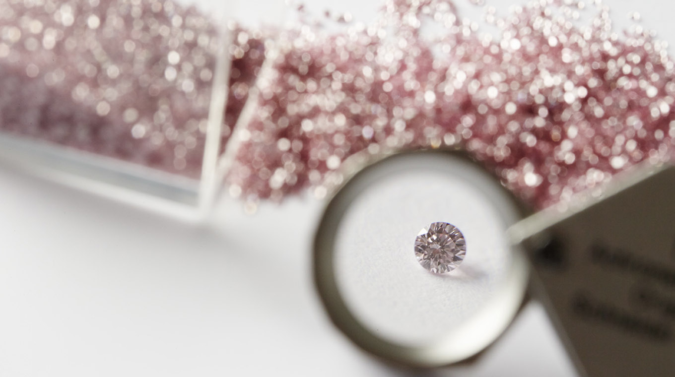 The Argyle diamond mine launches a new collection of rare pink gems