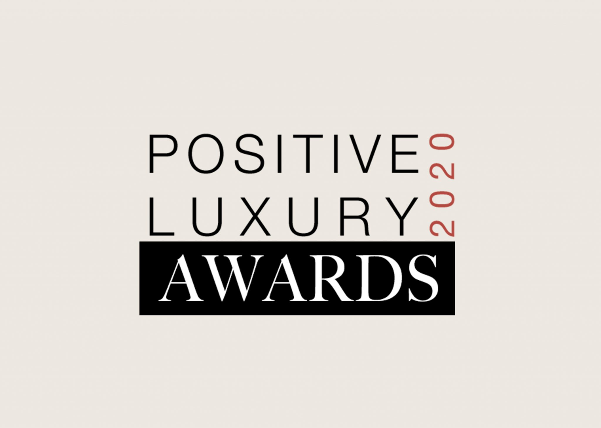 Hi Res Logo used for Positive Luxury Awards 2020