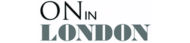 On in London Logo for In the press page