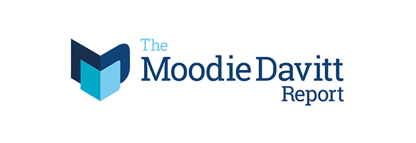 The Moodie Davitt Report Logo for In the press page