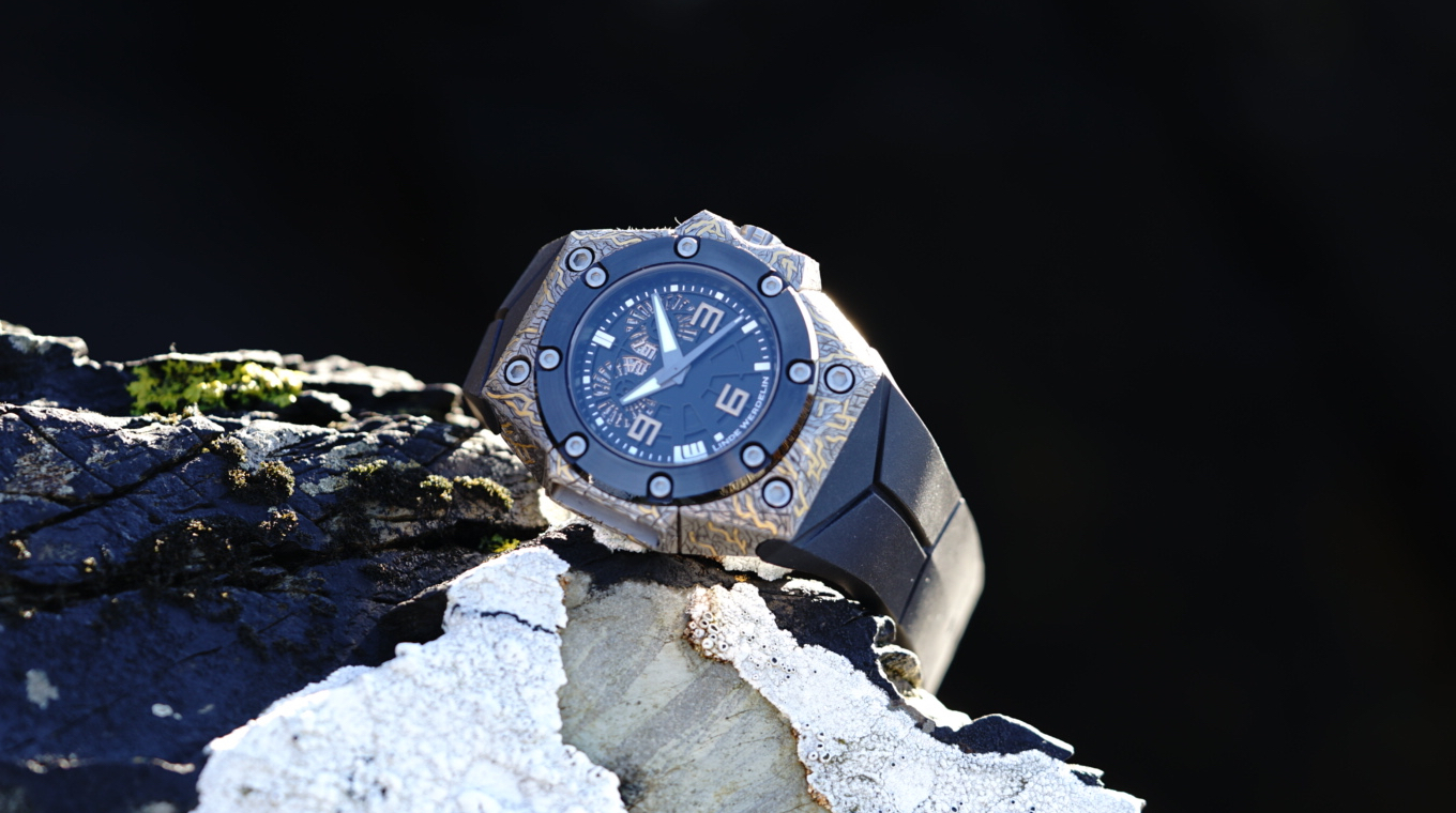 Linde Werdelin watch rock