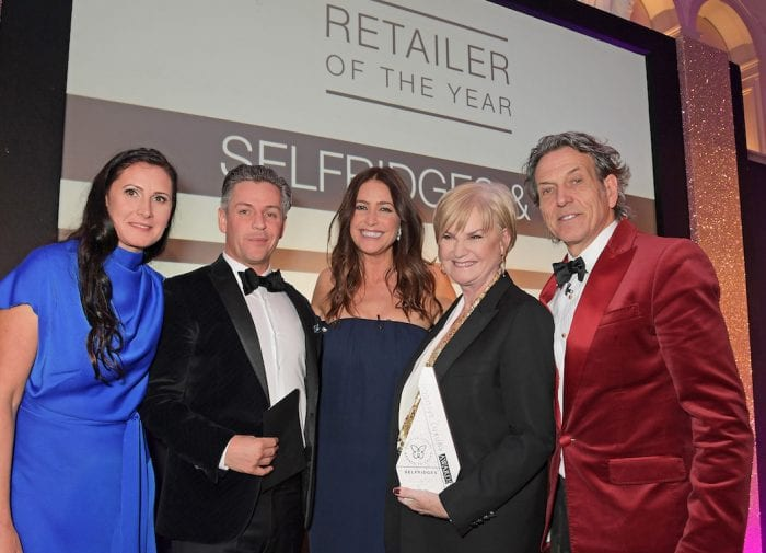 Selfridges wins Retailer of the Year Award at the Positive Luxury Awards