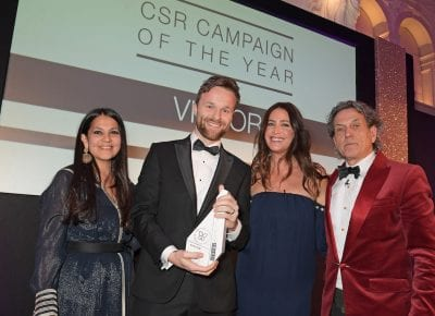 Get to know Victor, this winner of the CSR Campaign of the Year at the 2020 Positive Luxury Awards