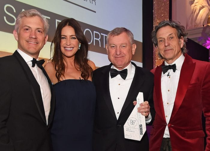 SALT Resorts wins Brand of the Year at the first annual Positive Luxury Awards