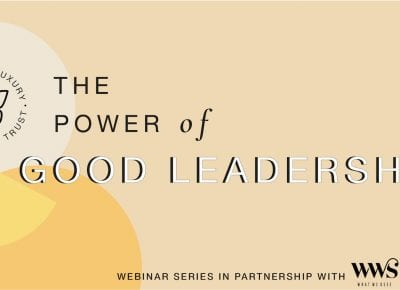 In case you missed it: Watch The Power of Good Leadership with Paul Polman
