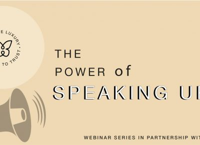 In case you missed it: Watch The Power of Speaking Up