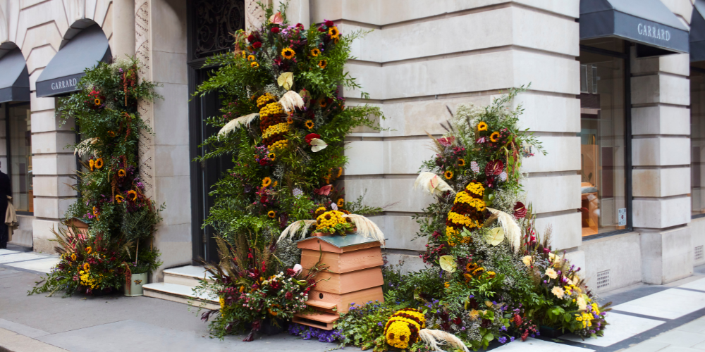 Butterfly Mark-certified Garrard and Arena Flowers bring biodiversity to London