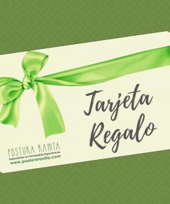Tarjeta Regalo Postura Ranita Portabebés