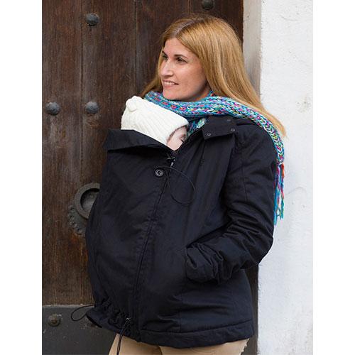 Abrigo de embarazo y porteo Momawo