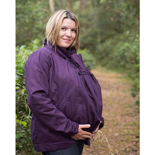 Abrigo de embarazo y porteo 4 en 1 Momawo