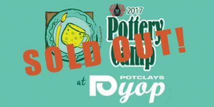 Mayco Pottery Camp is a Sell-Out!