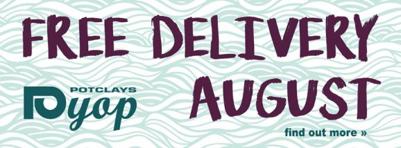 Free Delivery August!
