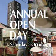 Annual Open Day - Sat 3 Oct
