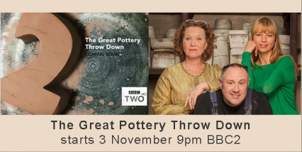 The Great Pottery Throw Down starts 3 November!