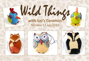 Wild Things - an exciting new workshop