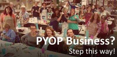 PYOP Business? Step this way!
