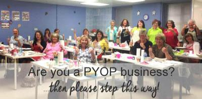 Are you a PYOP business?