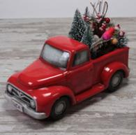 Red Pick-Up Truck