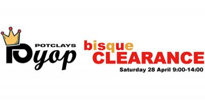 BISQUE CLEARANCE & SALE