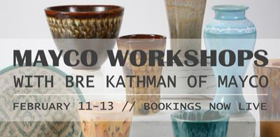 Mayco Workshops with Bre Kathman