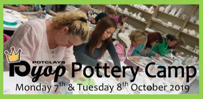 Pottery Camp Oct '19