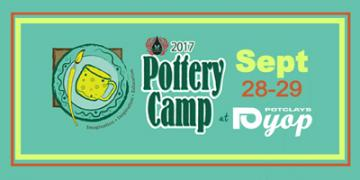 Mayco Pottery Camp (Sept)