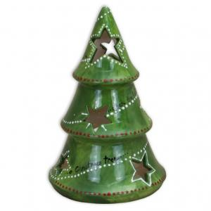 Xmas Tree Votive 7½