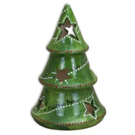 "Xmas Tree Votive 7½"" H x 7"" Dia.,stockcode:BW-BU1952"