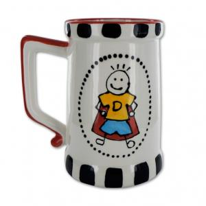 "Beer Mug: 4/cs: 5.25""x4""x6"" ,stockcode:BW-BU0428"