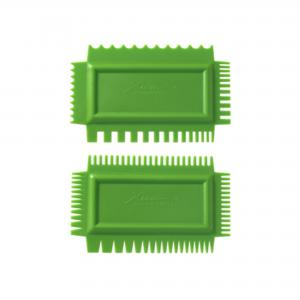 Texture Combs Set of 2: Firm flex, Set B ,stockcode:5824-FCB