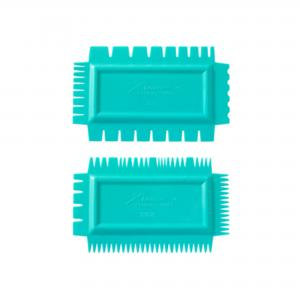 Texture Combs Set of 2: Soft flex, set A ,stockcode:5824-SCA