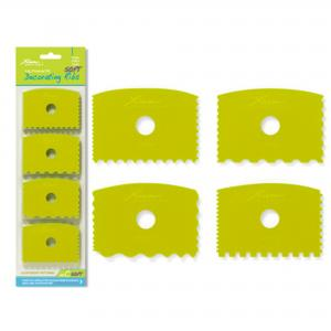 Decorating Ribs Set of 4: Soft flex, set C ,stockcode:5824-SDC
