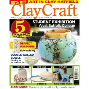 ClayCraft Magazine Issue 17 ,stockcode:9M9296-22