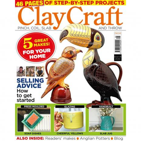 Claycraft Magazine Issue 25,stockcode:9M9296-30
