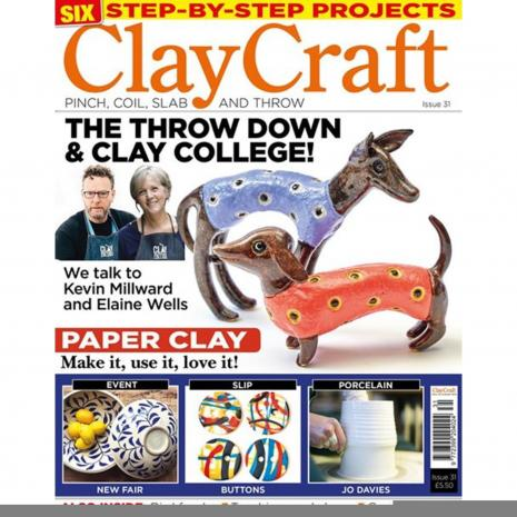 Claycraft Magazine Issue 31,stockcode:9M9296-36