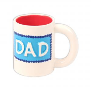 "Dad Mug: 6/cs: 5""x3.25""x4"" ,stockcode:BW-BU0439"