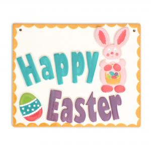 "Easter Plaque: 6/cs: 7.75""x6.25"",stockcode:BW-BU1060"