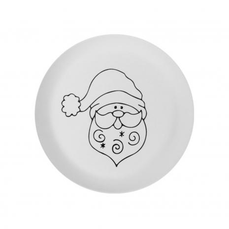 Santa Party Plate,stockcode:BW-BU6700L