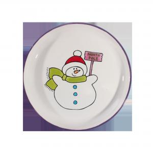 Snowman Party Plate ,stockcode:BW-BU6703L