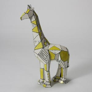 Faceted Giraffe ,stockcode:BW-MB1431