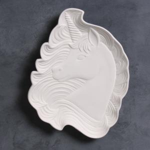 Magical Unicorn Dish: 9.5 x 7 x 1.25