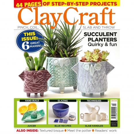 ClayCraft Magazine Issue 23,stockcode:9M9296-28