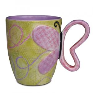 "Butterfly Cup:12c/s:4.75""x5.75"" ,stockcode:BW-MB1183"